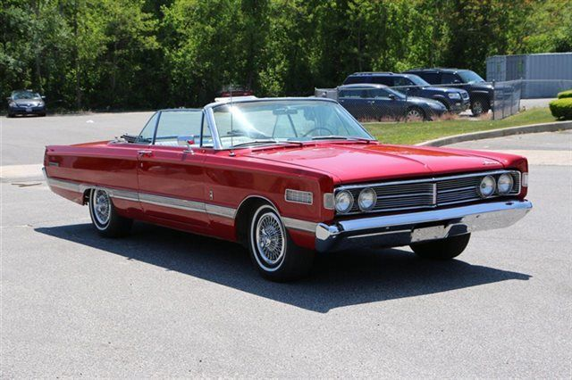 1966 mercury park lane  convertible  red  white interior  428  a  c  loaded