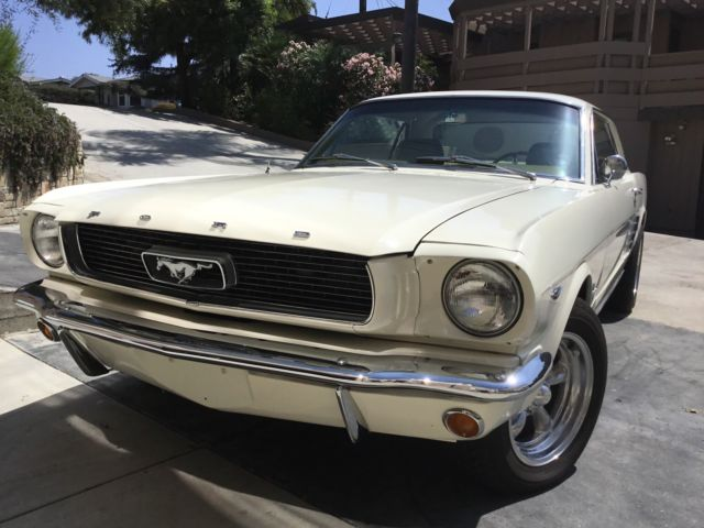 1966 mustang coupe 289 v8 restored classic ford mustang 1966 for sale. Black Bedroom Furniture Sets. Home Design Ideas