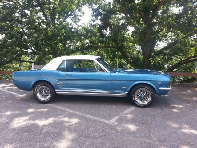 1966 mustang coupe c code pony package classic ford mustang 1966 for sale. Black Bedroom Furniture Sets. Home Design Ideas