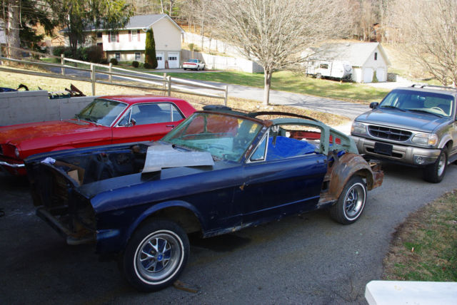 1966 Mustang Fastback Conversion V8 Project Classic Ford