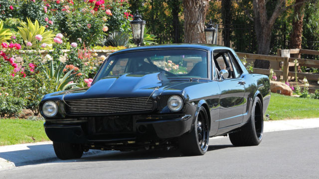 1966 Mustang Pro Touring Supercharged Tremec 5 Speed
