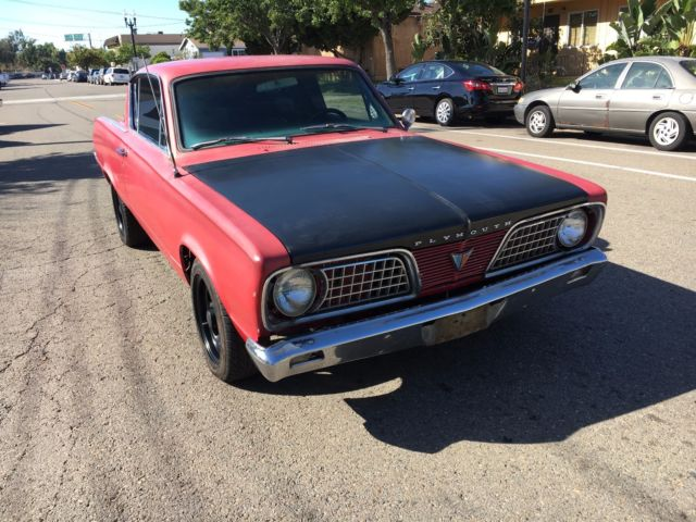 1966 Plymouth Barracuda 440 Engine V8 7 2L Sleeper Automatic Limited