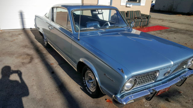 1966 Plymouth Barracuda 98% original - Classic Plymouth