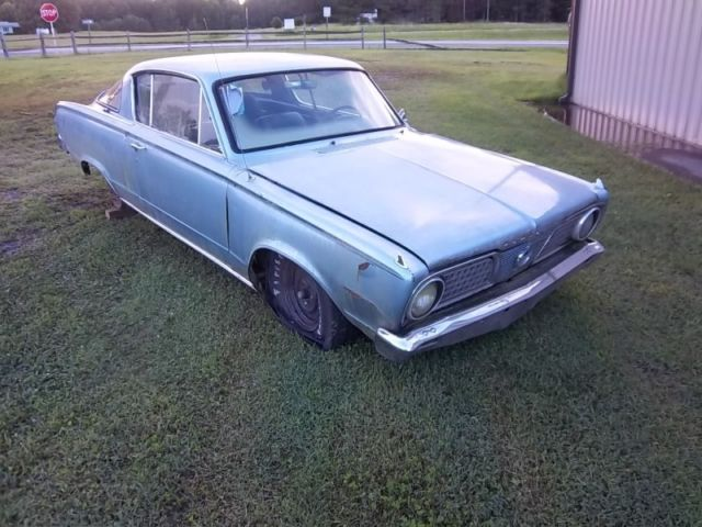 1966 Plymouth Barracuda for PARTS or RESTORATION **CLEAR TITLE