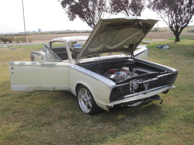 1966 Plymouth Barracuda, PRO MOD restoration project, muscle car