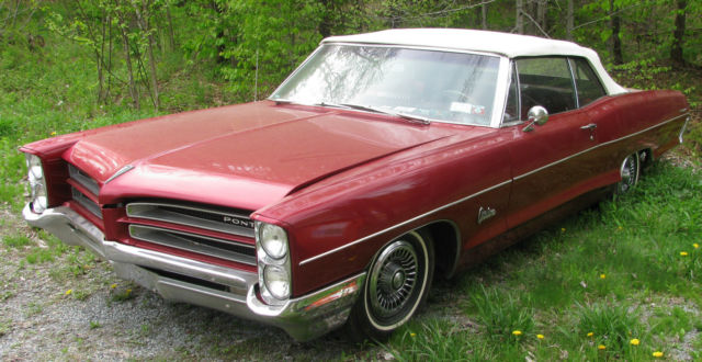1966 pontiac catalina convertible red white top not bonneville or gto classic pontiac catalina. Black Bedroom Furniture Sets. Home Design Ideas