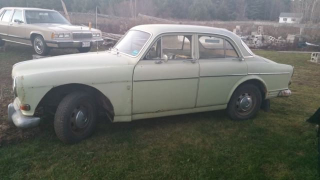 Volvo S Door Sedan Speed Restoration Project With Parts Included on Volvo Cylinder Location