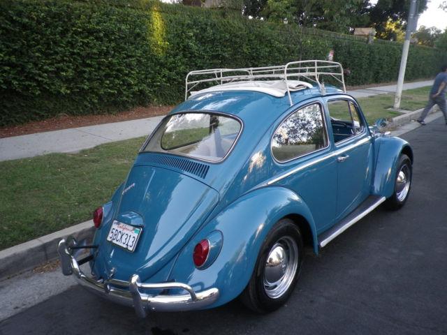 1966 Vw Beetle Ragtop Classic Volkswagen Beetle
