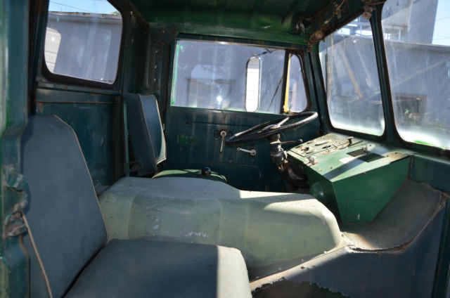 Drive In Reo >> 1966 White Truck - Compact - Cab Over COE Semi Truck Model ...