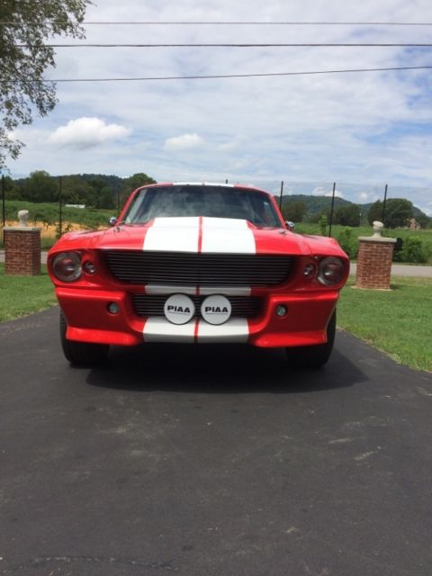 1967 1968 Shelby Eleanor Mustang GT500 E Replica Fastback