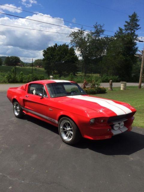 1967 Mustang Fastback Eleanor Replica