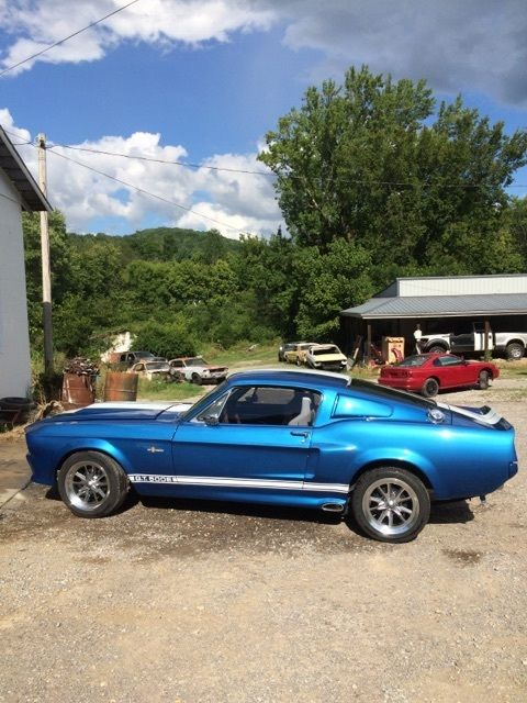 1967 Shelby Gt500 Eleanor >> 1967 1968 Shelby Eleanor Mustang GT500 E replica fastback conversion - Classic Ford Mustang 1967 ...