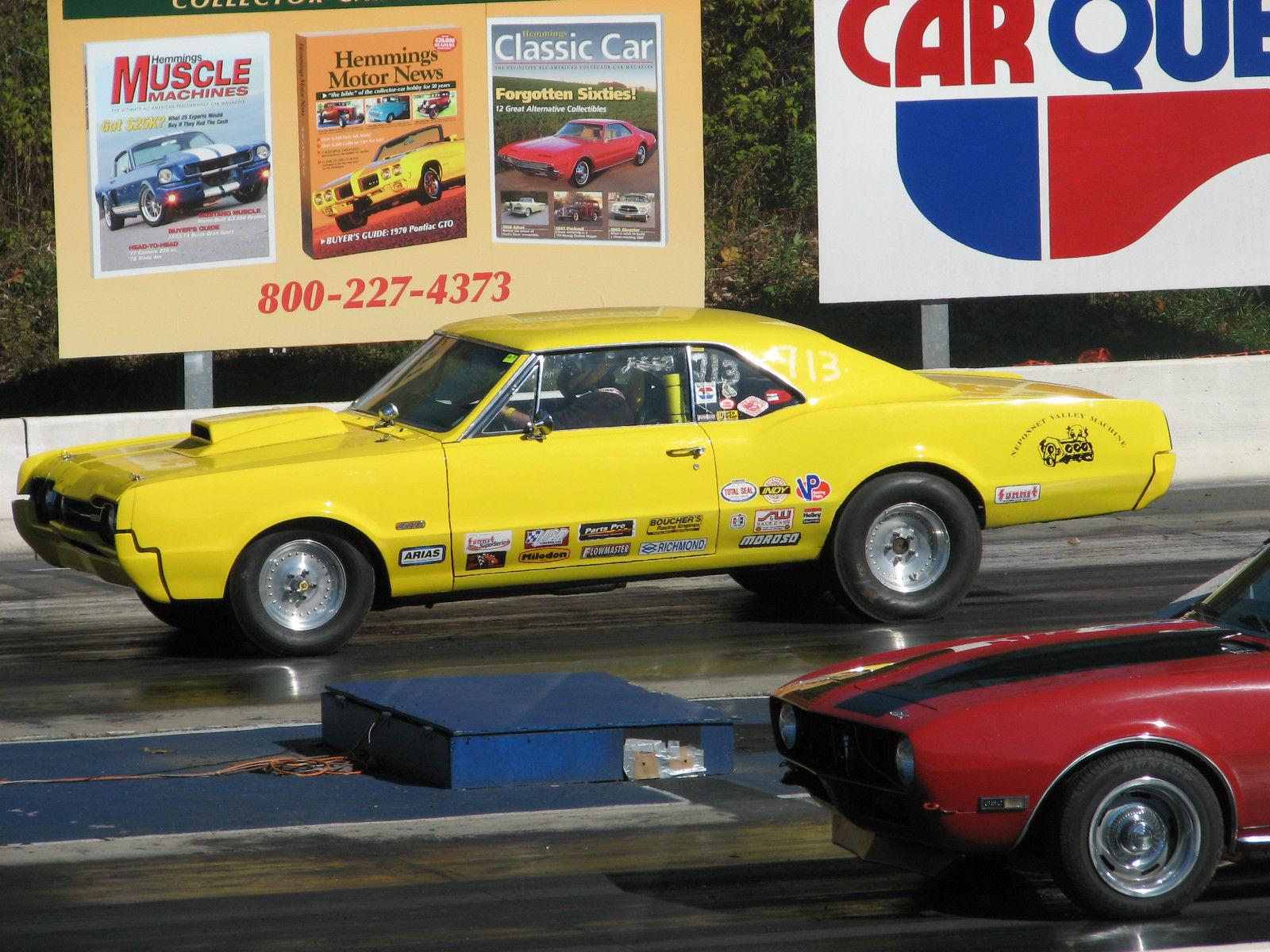 1967 67 cutlass Real 442 solid body, street strip, drag race
