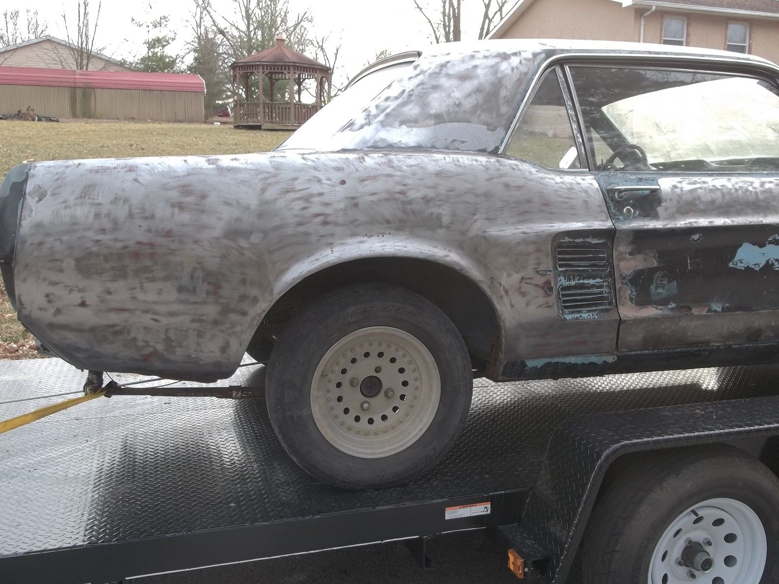 Buying A Car With No Title >> 1967 67 FORD MUSTANG COUPE SOLID BUILDER CLEAN TITLE GOOD ...