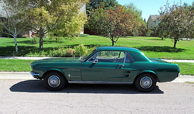 Model Cars For Sale >> 1967 67 Ford Mustang Sports Sprint Hard top Coupe Pony Car ...