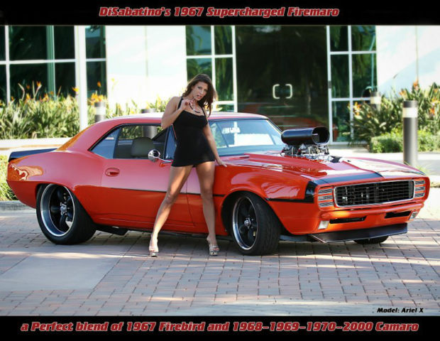 1967 68 69 70 2000 Firebird Camaro Supercharged 1 Of A
