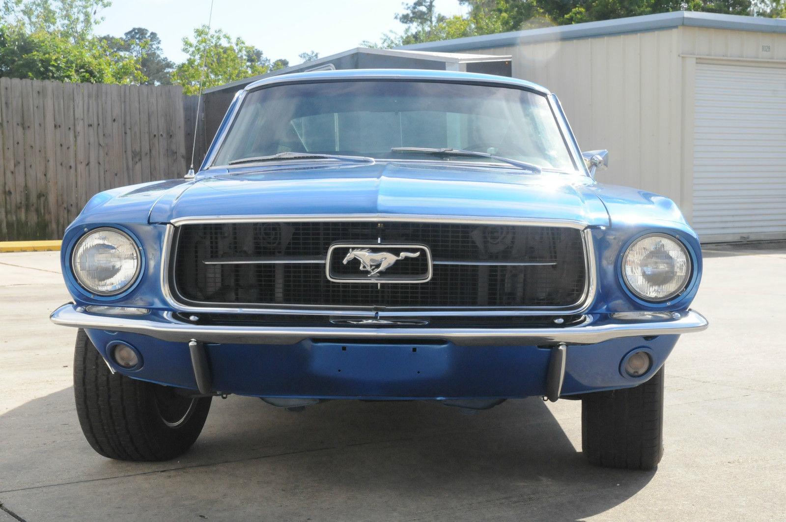 1967 FORD MUSTANG FASTBACK - 183947  1967 Ford Mustang Fastback Blue