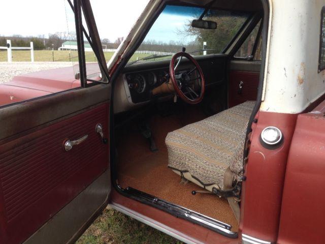 1967 c10 396 swb patina shop truck - Classic Chevrolet C-10