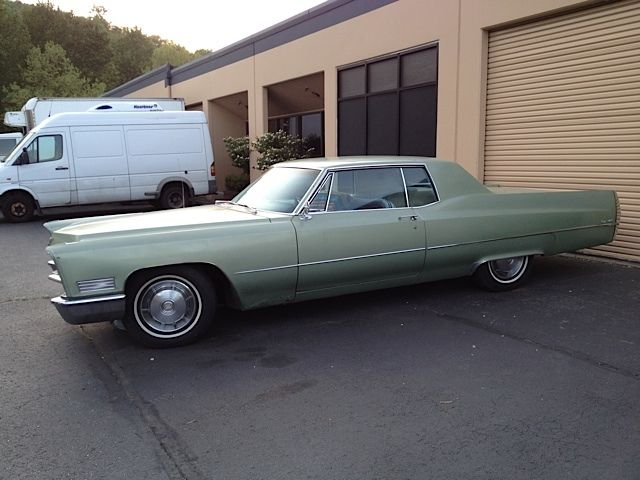 1967 cadillac coupe deville base hardtop 2 door 2nd owner. Cars Review. Best American Auto & Cars Review