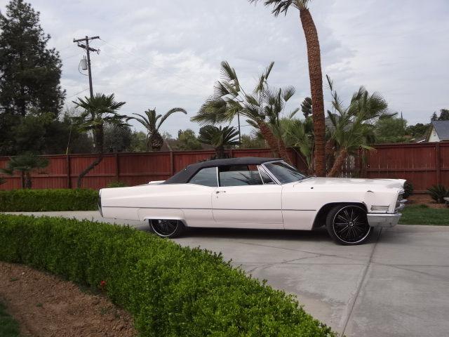 1967 Cadillac Coupe Deville Convertible Custom Rims 22 ...