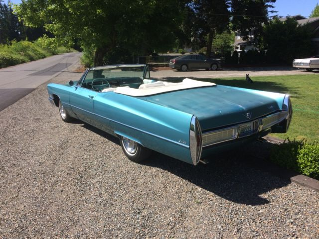 1967 cadillac deville convertible original car matching. Black Bedroom Furniture Sets. Home Design Ideas