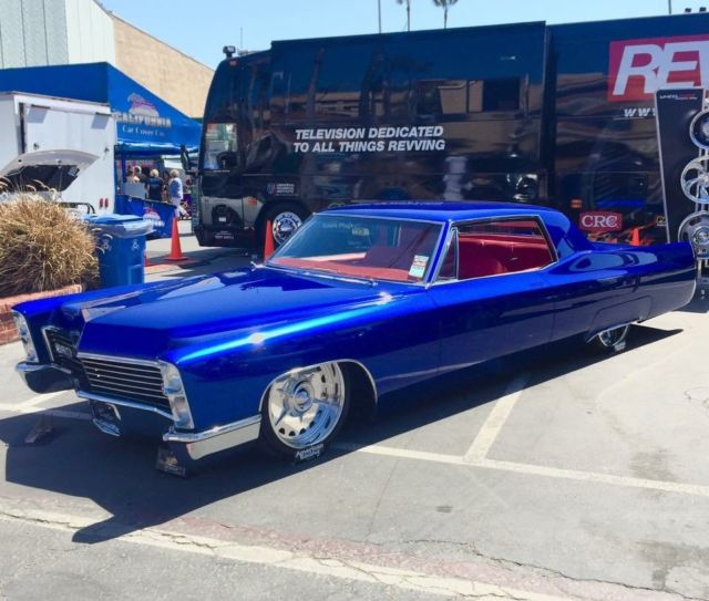 Custom Cadillac Deville For Sale: 1967 Cadillac Show Car Hot Rod Street Rod Custom Bagged