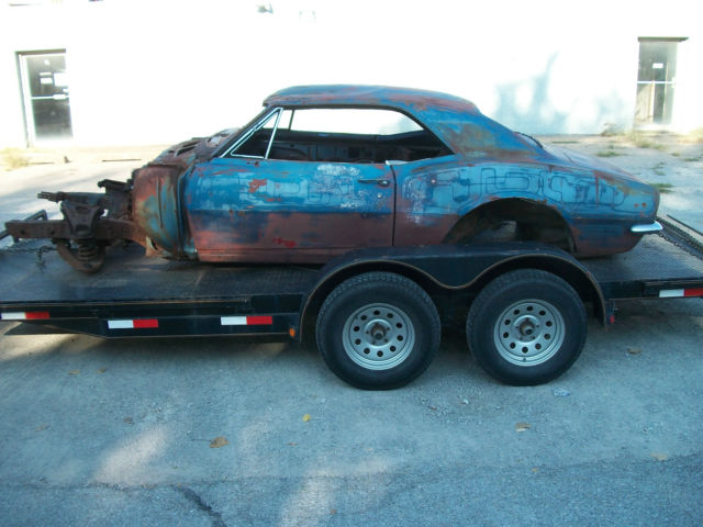 Used Cars For Sale In Oklahoma >> 1967 Camaro, body, old drag car - Classic Chevrolet Camaro 1967 for sale