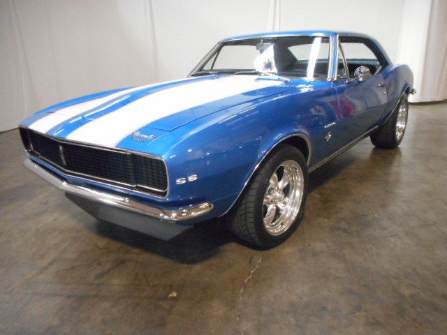 1967 Camaro RSSS V8 350ci 4 Speed Lemans Blue With