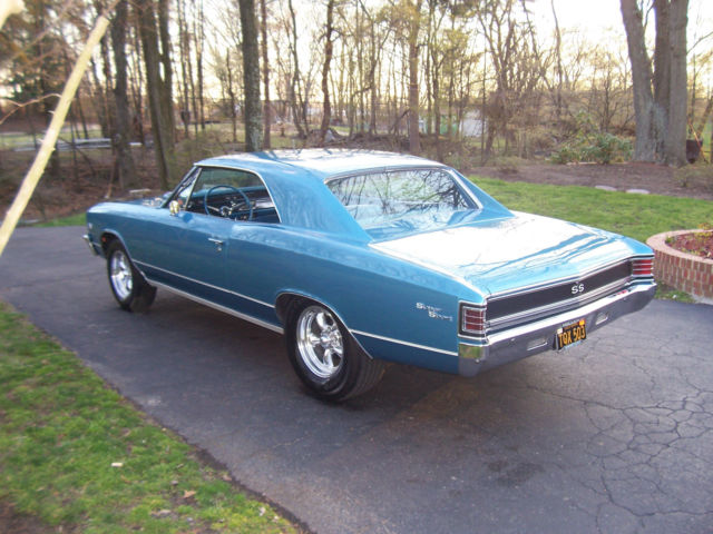 1967 Chevelle SS 396 4 Speed Factory AC California Car