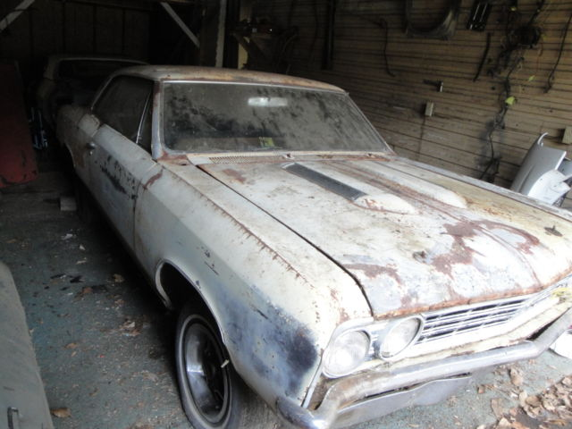 1967 Chevelle Ss 4 Speed 12 Bolt Project Car Super Sport
