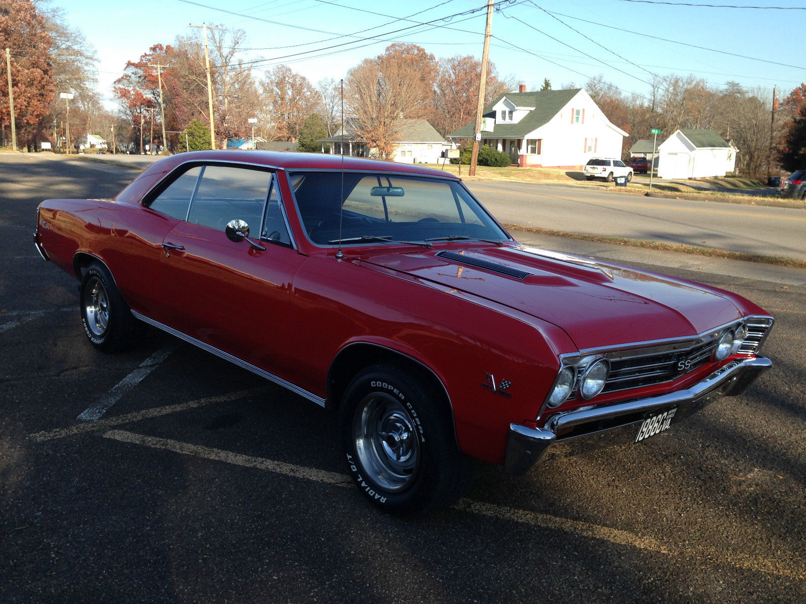 New Chevelle Ss >> 1967 Chevelle SS (clone) , red with black interior - Classic Chevrolet Chevelle 1967 for sale