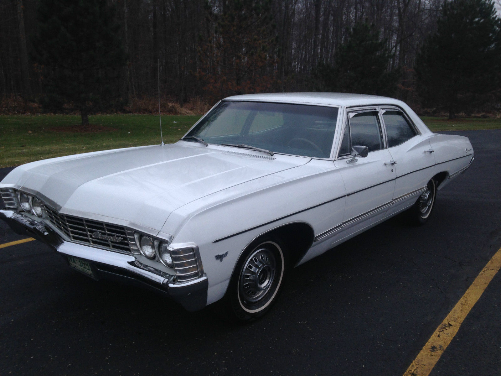 1967 cheverolet impala 4 door supernatural car no reserve free shipping classic chevrolet. Black Bedroom Furniture Sets. Home Design Ideas