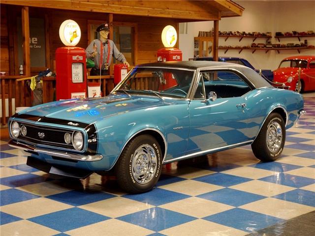 Used Camaro Ss For Sale >> 1967 Chevrolet Camaro SS350- Marina Blue / Black - Classic Chevrolet Camaro 1967 for sale