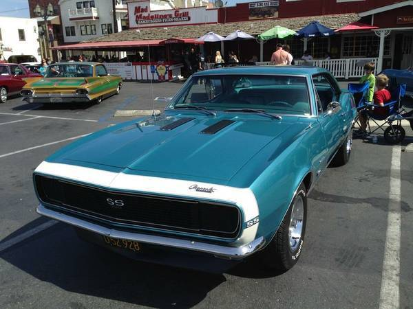 1967 CHEVROLET CAMARO SS/RS - EMERALD TURQUOISE - NUMBERS