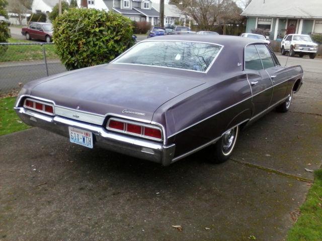 1967 chevrolet caprice base hardtop 4 door 396 survivor 88000 supernatural car classic. Black Bedroom Furniture Sets. Home Design Ideas