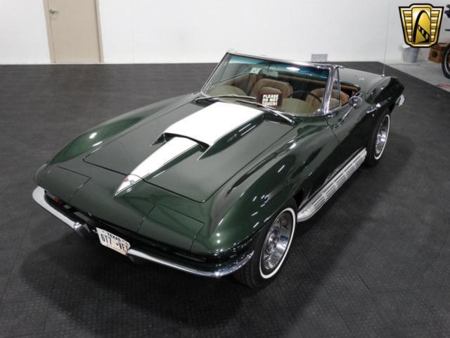 1967 Chevrolet Corvette Stingray 1200 Miles Dark Green