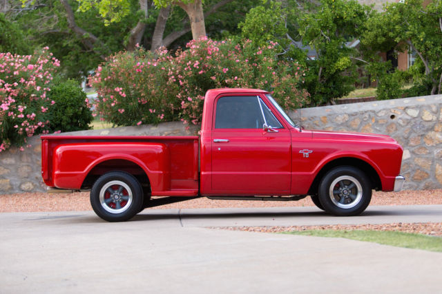 1967 CHEVROLET CUSTOM STEP SIDE TRUCK CRATE ENGINE SPORT