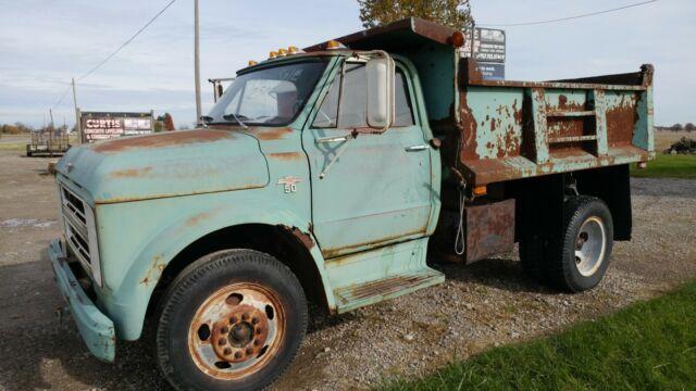 1967 Chevrolet Dump Truck W  Plow