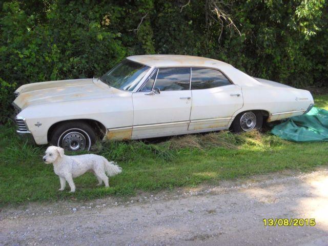 1967 chevrolet impala 4 door hardtop no post 327 all original classic chevrolet impala 1967. Black Bedroom Furniture Sets. Home Design Ideas
