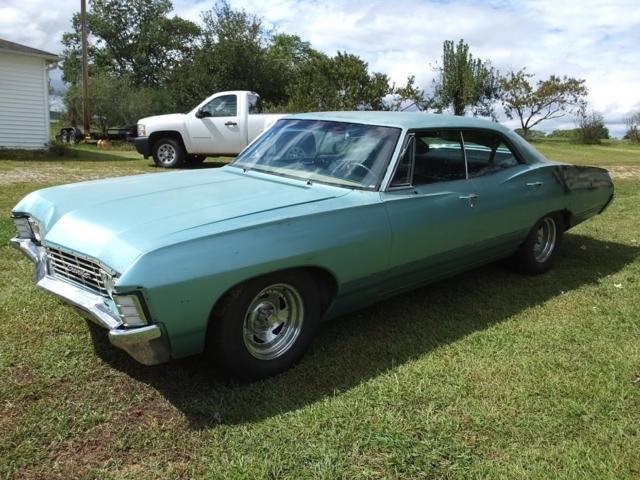 For Sale A 1967 Chevy Impala 4 Door Sedan Hardtop.html | Autos Weblog