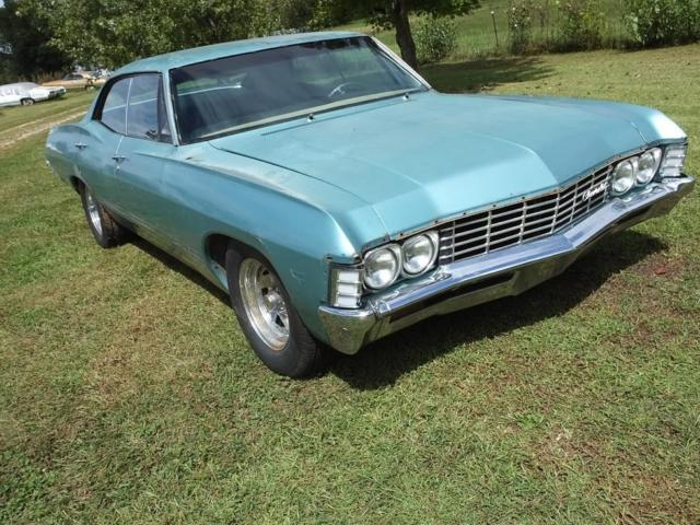 1967 Chevrolet Impala 4 door Hardtop Supernatural 67 4dr Chevy 4 dr Black Tan in - Classic