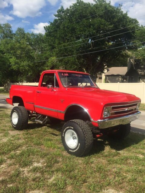 1967 Chevrolet K C 10 Classic Shortbed Step Side 4x4