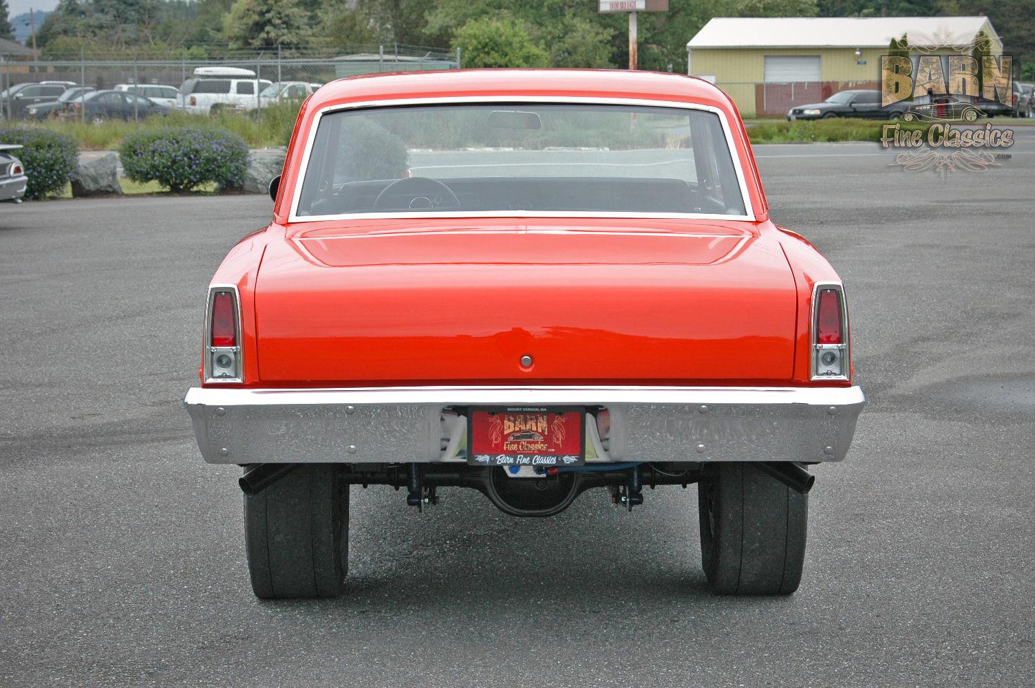 Chevrolet Nova Gasser V Speed Manual Trans Full Custom Build