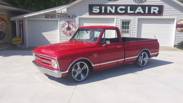 Chevy C Air Ride Custom Truck Chevrolet Pick Up Bagged