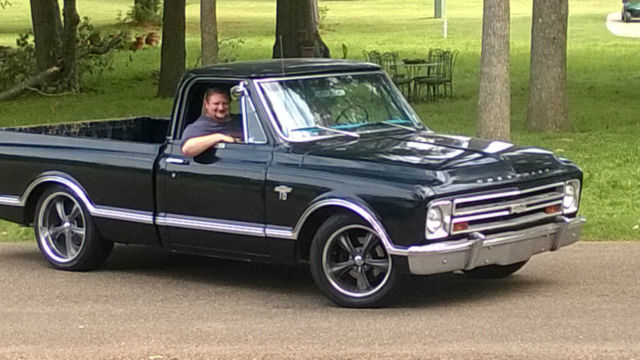1967 chevy c10 cst swb rare truck protect o plate classic chevrolet c 10 1967 for sale. Black Bedroom Furniture Sets. Home Design Ideas