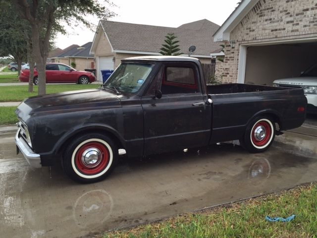 1967 Chevy C10 Pk Short Bed Rat Rod Nice Patina Running
