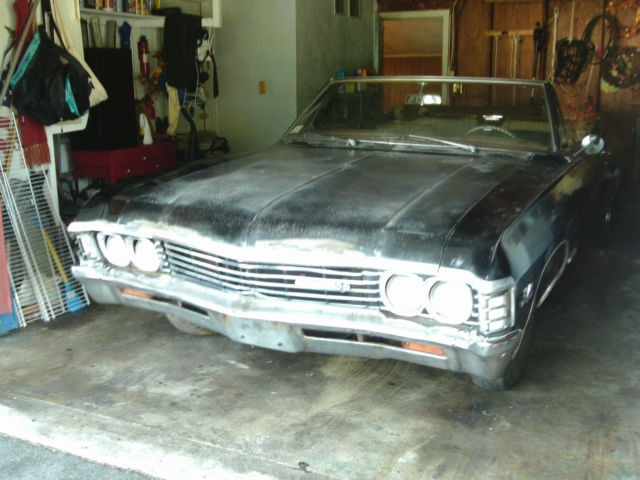 1967 Chevy Impala Ss Convertible Matching Numbers