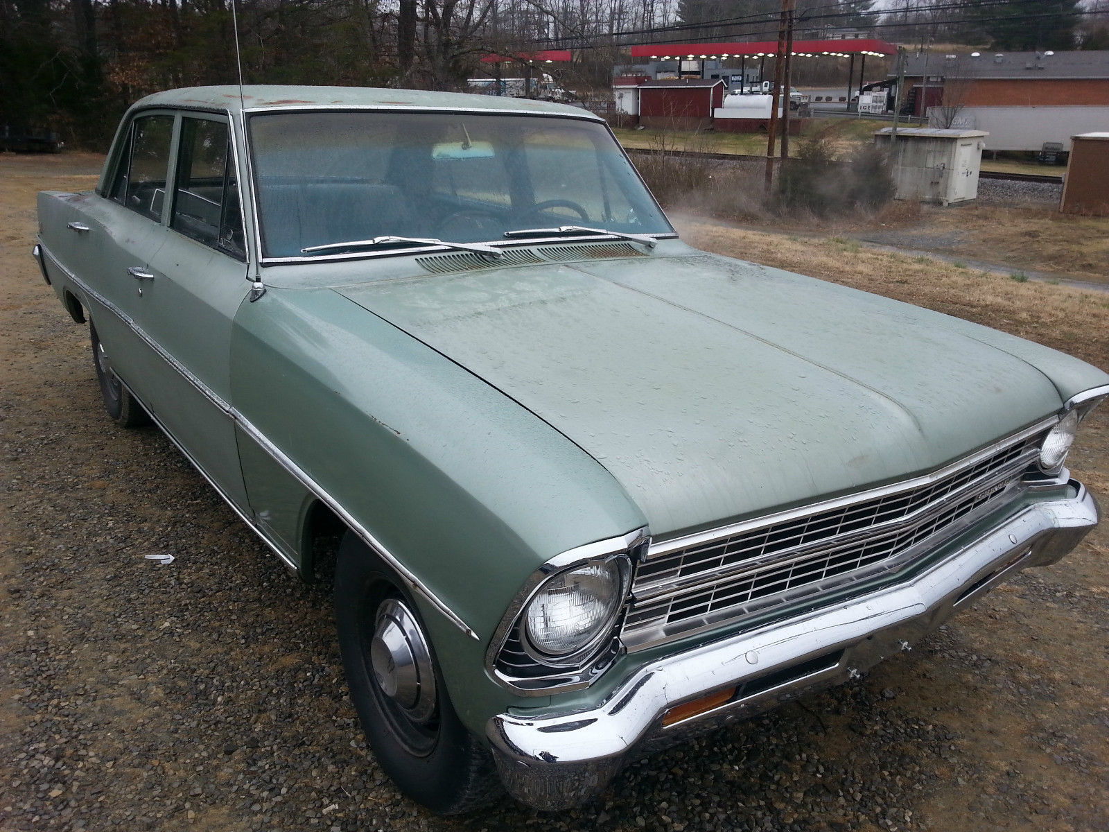 1967 chevy nova 4 door lots of new parts ready to drive