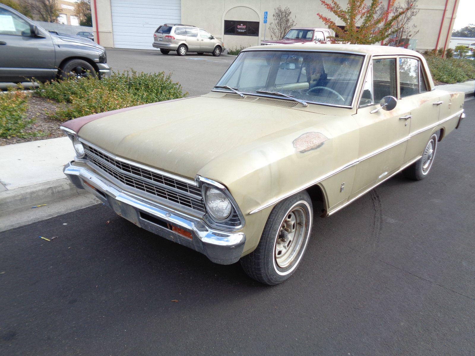 1967 Chevy Nova 4 Door Project Car Runs And Drives Classic Chevrolet Nova 1967 For Sale