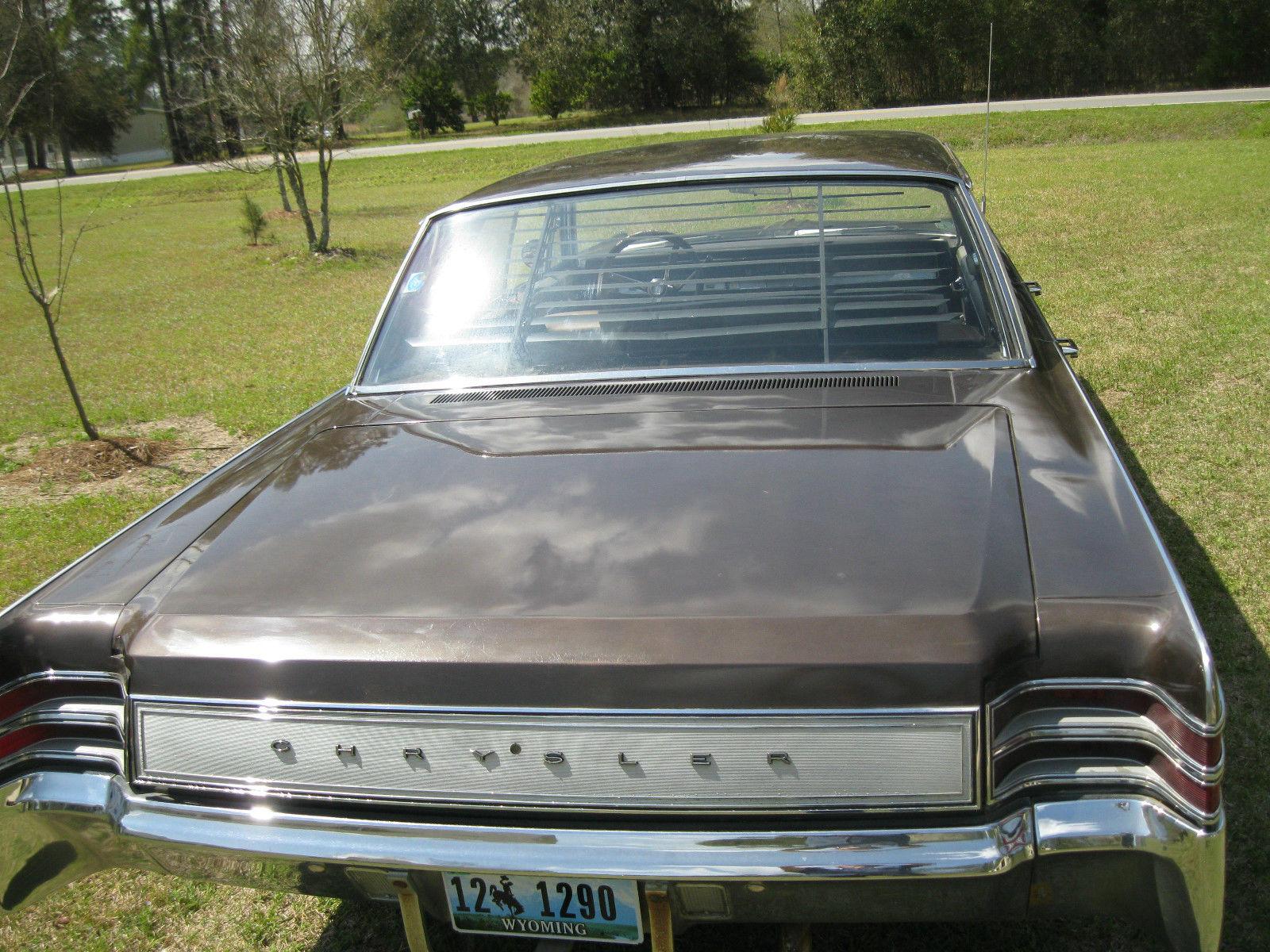 1967 Chrysler New Yorker Base 7 2L, 4 Door Hardtop - Classic